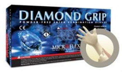 Picture of SMALL DIAMOND GRIP LATEX GLOVES