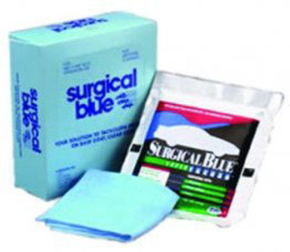 Picture of BOX OF SURGICAL BLUE TACK RAGS