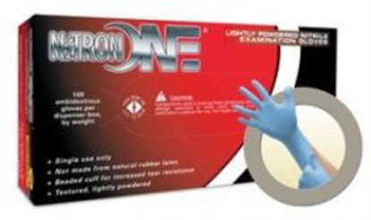 Picture of XL NITRON LATEX GLOVES