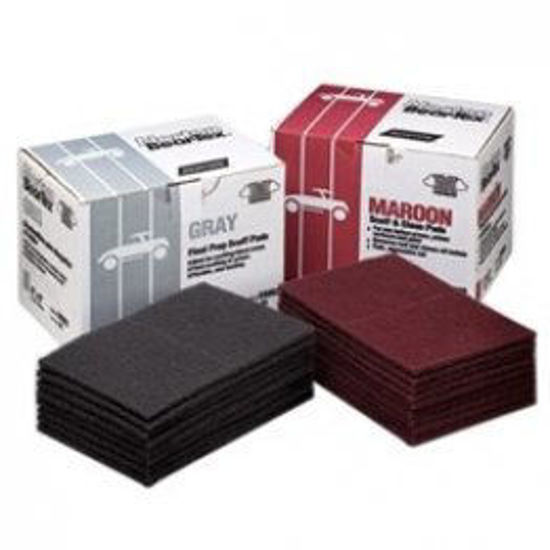 Picture of MAROON SCUFF PADS