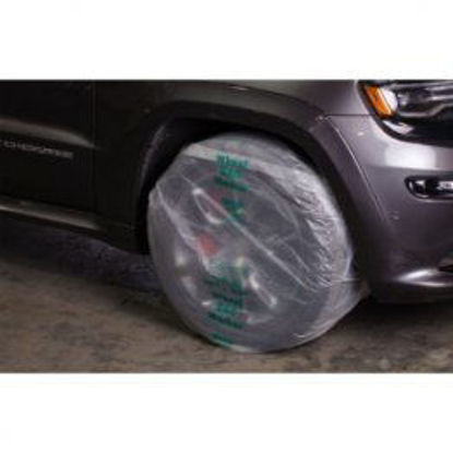 """Picture of 16"""" PLASTIC WHEEL MASKERS ON A ROLL"""