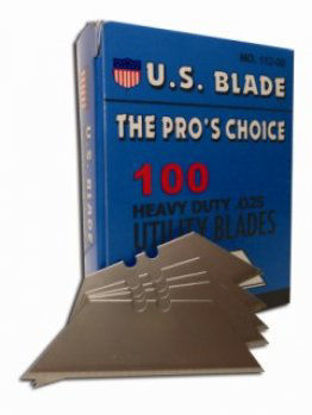 Picture of 100 UTILITY KNIFE BLADES