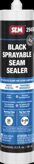 Picture of 1K BLACK SPRAYABLE SEAM SEALER