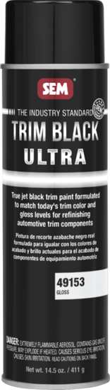 Picture of AEROSAL CAN OF GLOSS TRIM BLACK