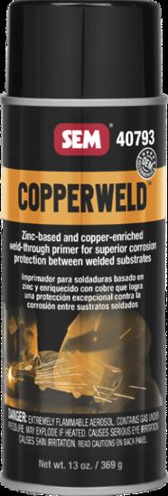Picture of AEROSOL CAN OF COPPER WELD THRU PRIMER