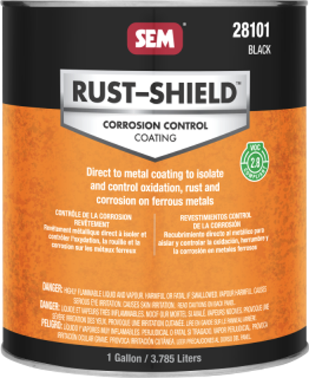 Picture of RUST SHIELD-BLACK