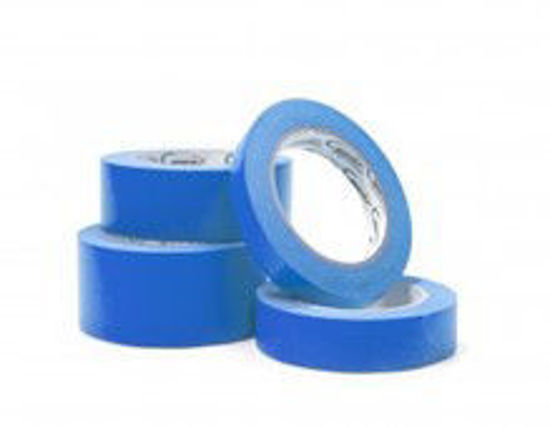 """Picture of ROLL OF 1-1/2"""" BLUE AUTOMOTIVE TAPE"""
