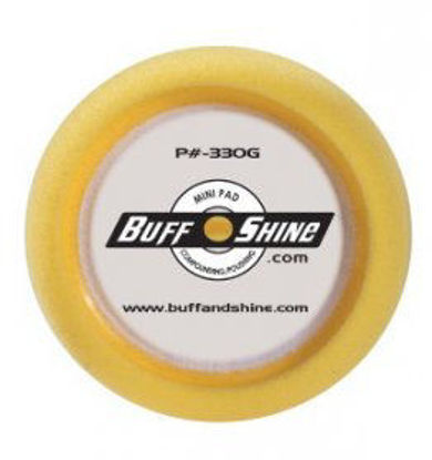 """Picture of 3"""" YELLOW FOAM PADS 2PK"""