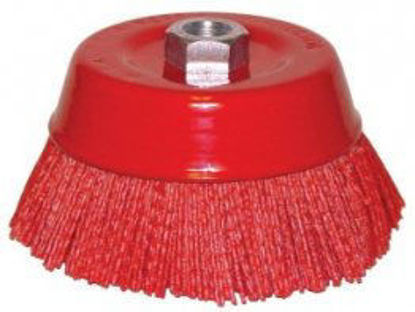 """Picture of 6"""" 5/8 NYLON CUP BRUSH"""