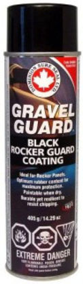 Picture of AEROSOL CAN OF BLACK GRAVEL GUARD