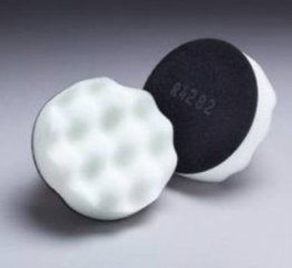 """Picture of 3"""" WHITE WAFFLE VELCRO PAD"""
