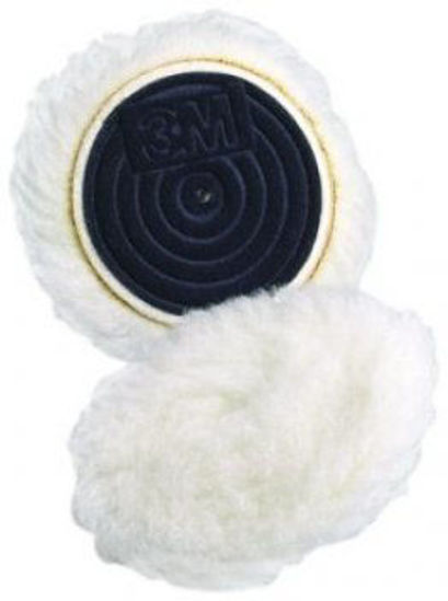 """Picture of 3"""" WOOL BUFFING PAD"""