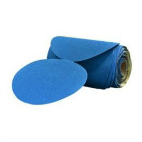 """Picture of 6"""" 150 GRIT BLUE PSA"""