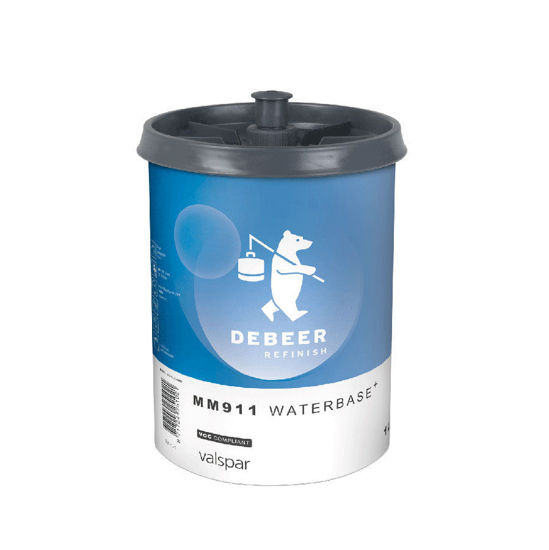Picture of WATERBASE  COLOR 9184 METALLIC BRIGHT RED