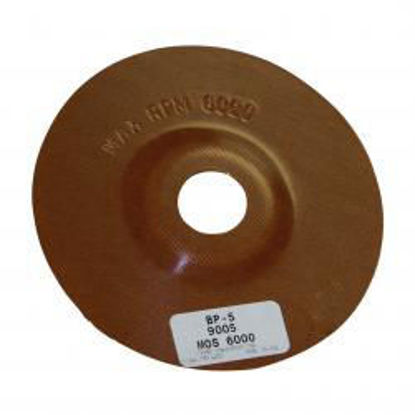 """Picture of 5"""" PHENOLIC BACK UP PAD"""