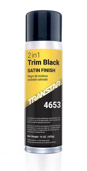 Picture of SATIN TRIM BLACK