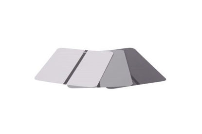 Picture of MEDIUM GRAY METAL TEST CARDS