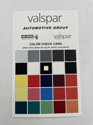Picture of VALSPAR & DEBEER COLOR CHECK CARDS 50PK